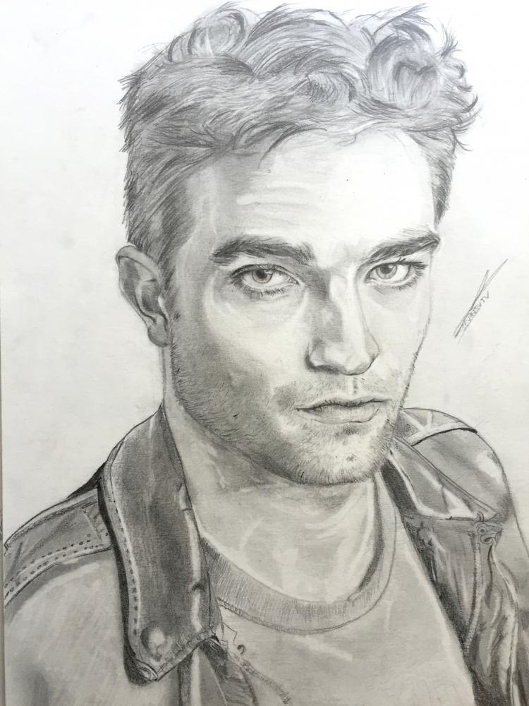 Robert Pattinson by sevinjuju